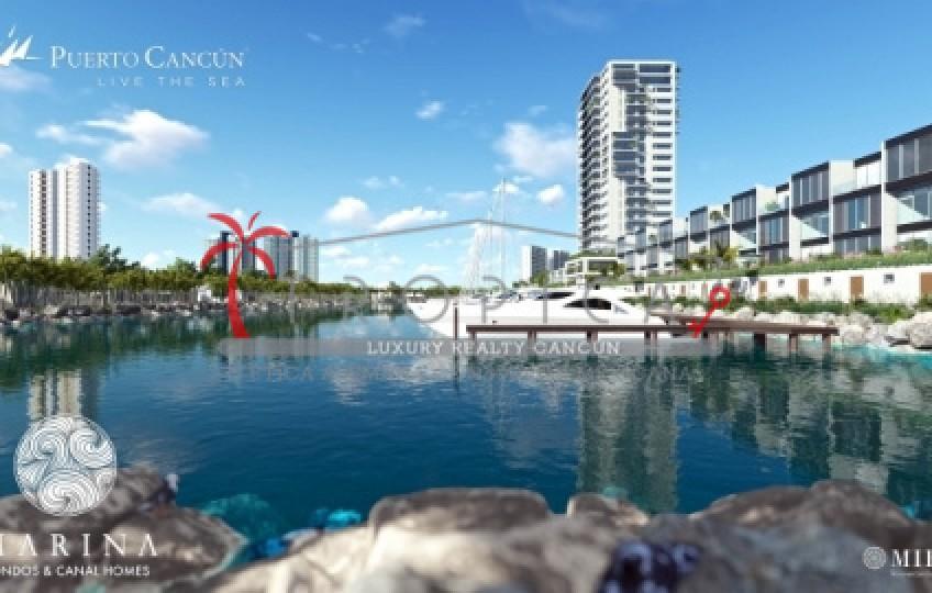 Marina Condos & Canal Homes Puerto Cancún